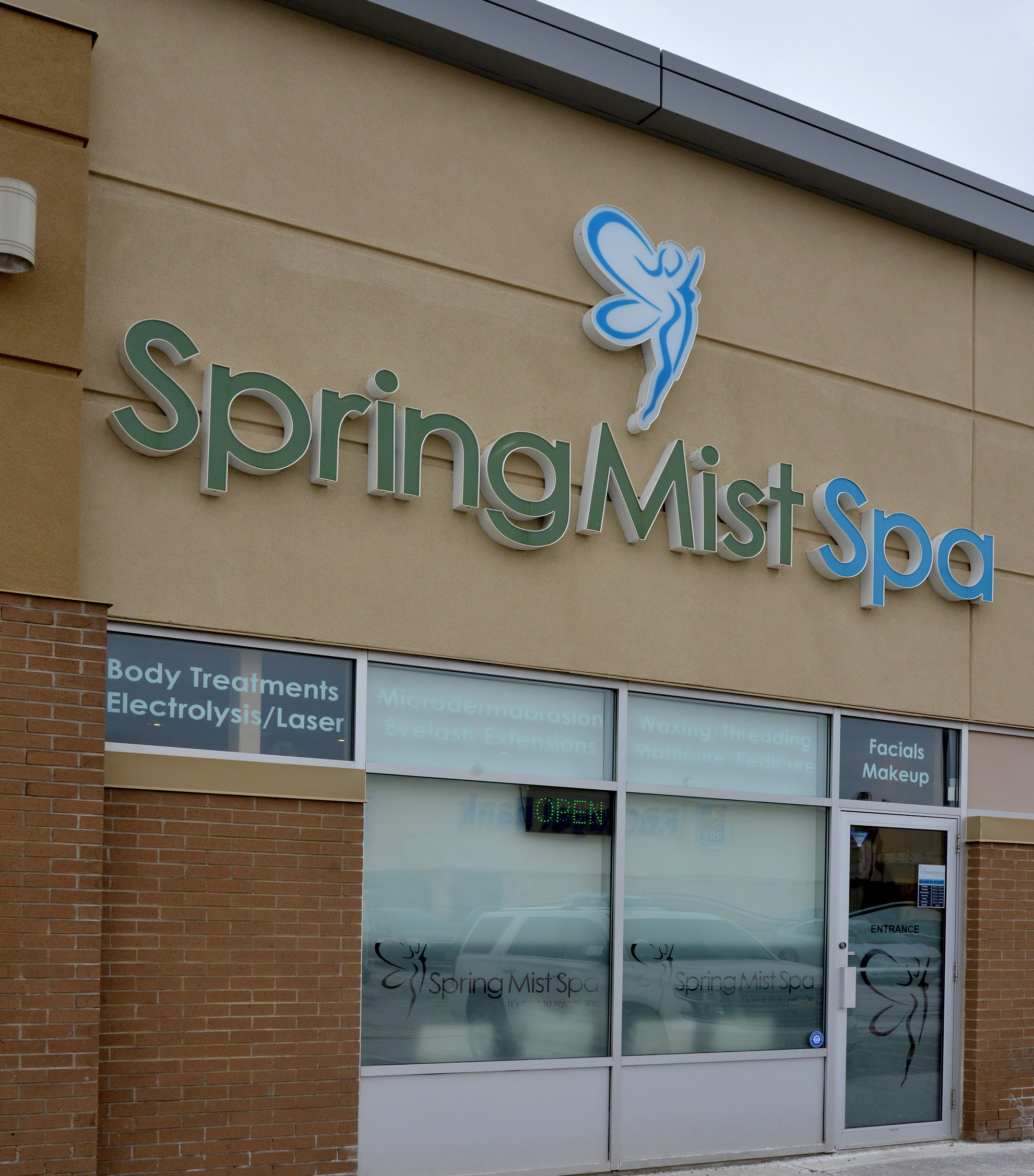 Spring Mist Spa - Contact and Business Hours