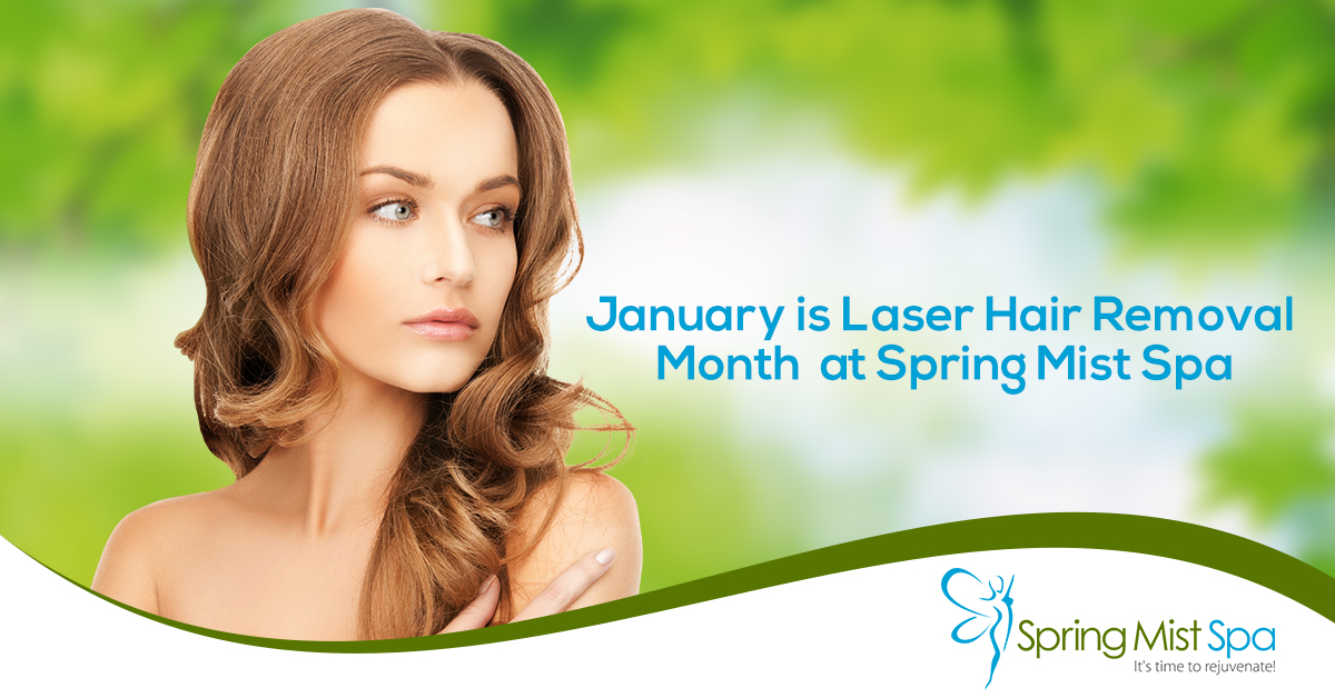 50% Off - on Laser Hair Removal at Spring Mist Milton Spa