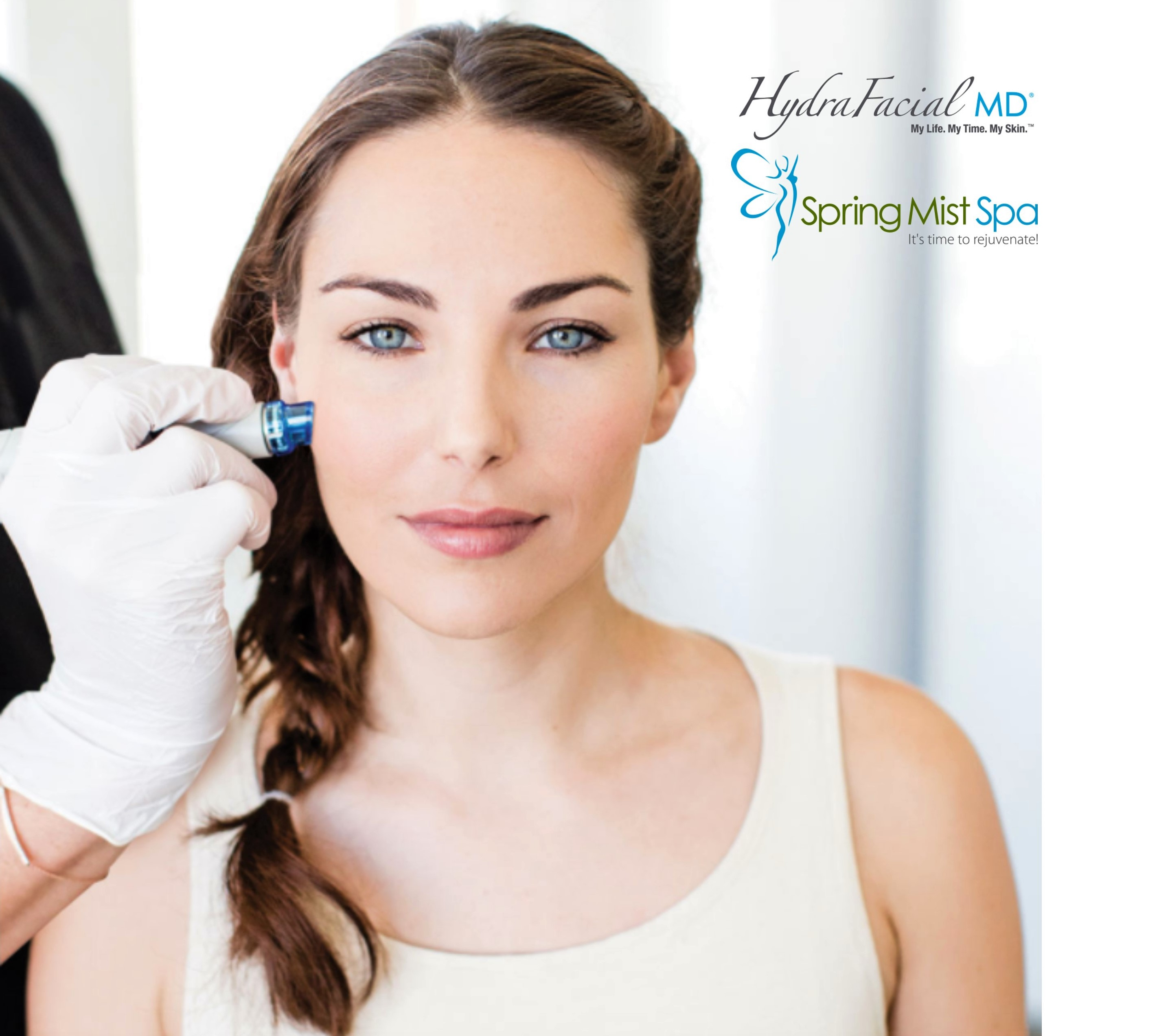 Spring Mist Spa Milton - Hydrafracial - 3 steps, 30 minutes to the best skin of your life.