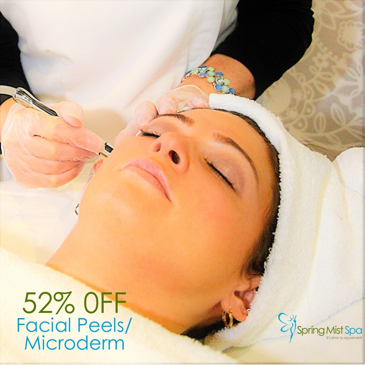 Spring Mist Milton Spa Specials, Offers, Deals And Discounts - Facial Peels and Microdermabrasion
