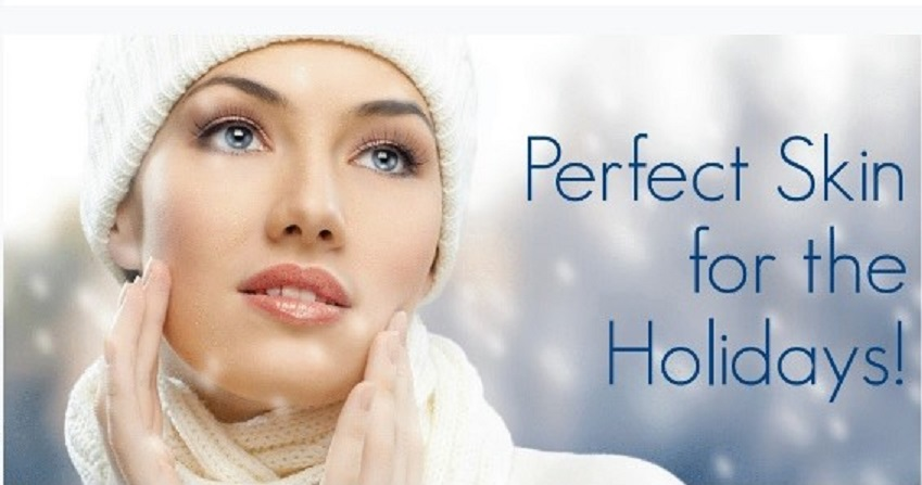 Beautiful Skin for the holidays at Spring Mist Spa Milton