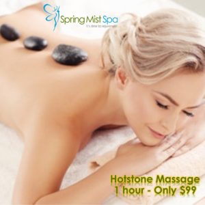 Spring Mist Milton Spa Special: Hotstone Massage only $99